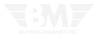 Buyer's Market White Logo