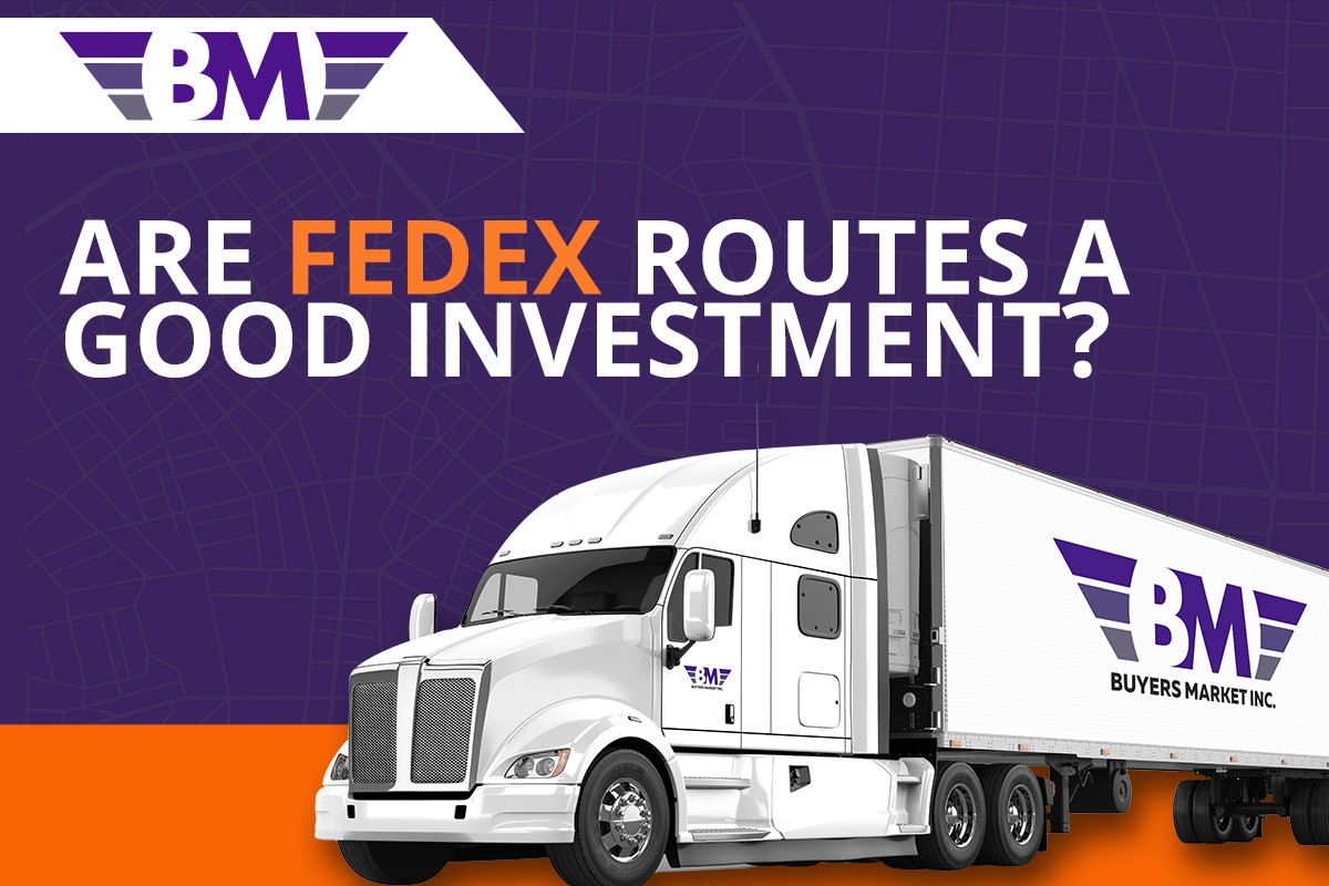 Fed Ex Routes for sale