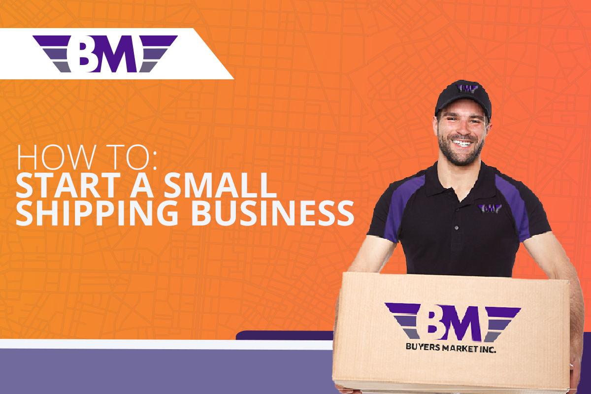 how to starta small shipping business