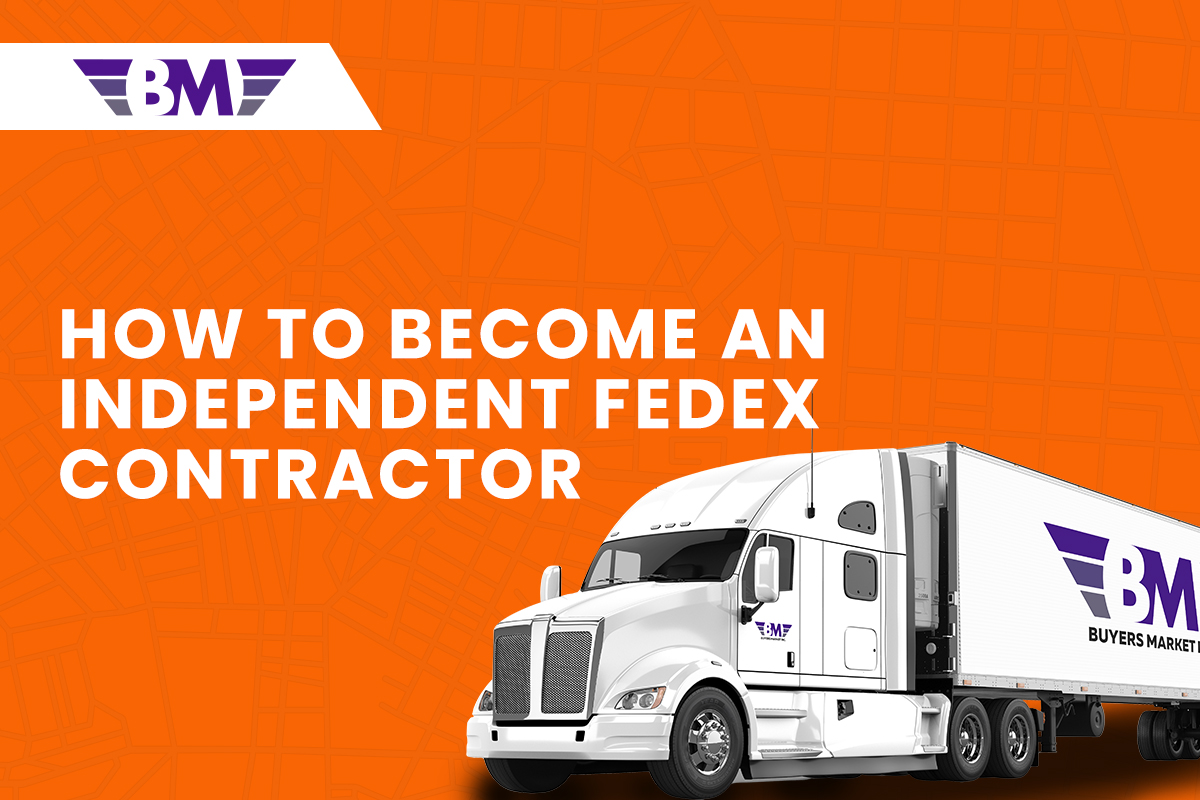How to become an Independent Fedex Contractor